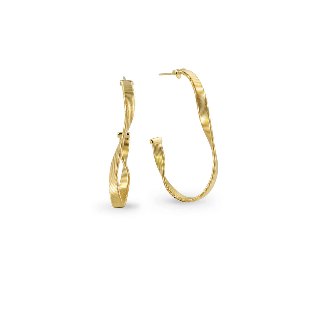 Marco Bicego® Marrakech Collection 18K Yellow Gold Hoop Earrings