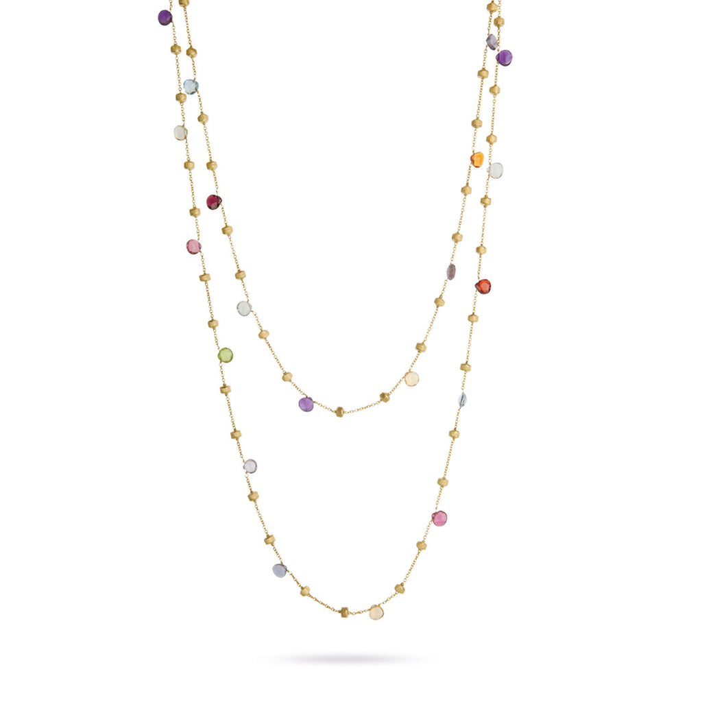 Marco Bicego Paradise Long Necklace in 18K Gold ktV7i