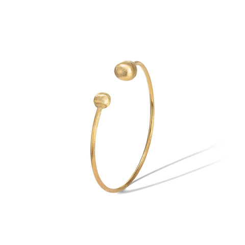 Marco Bicego® Africa Collection 18K Yellow Gold Kissing Bangle