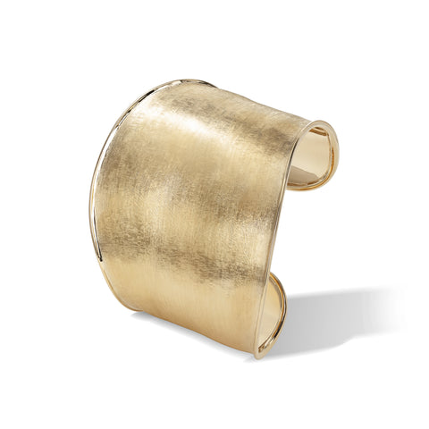 Marco Bicego® Lunaria Collection 18K Yellow Gold Wide Cuff