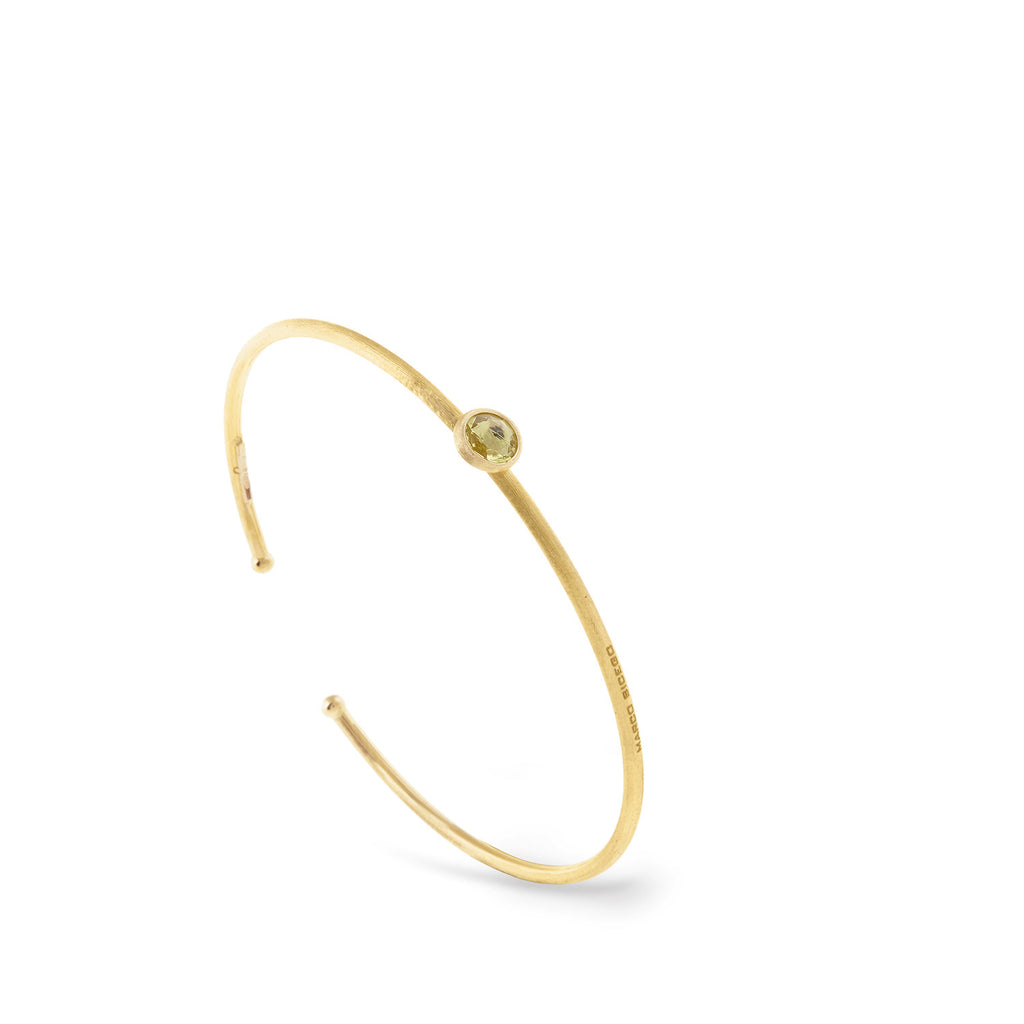Jaipur Single Lemon Citrine Bangle