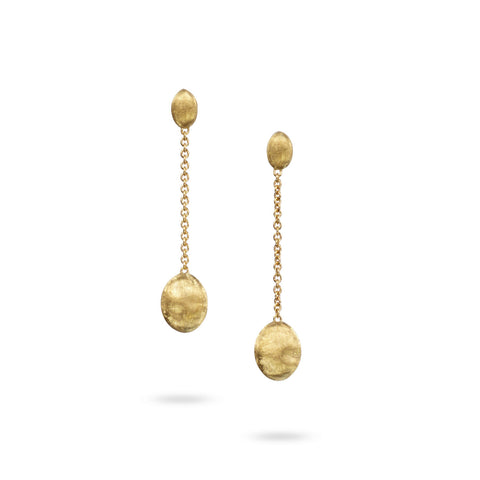 Siviglia 18K Yellow Gold Single Strand Earrings