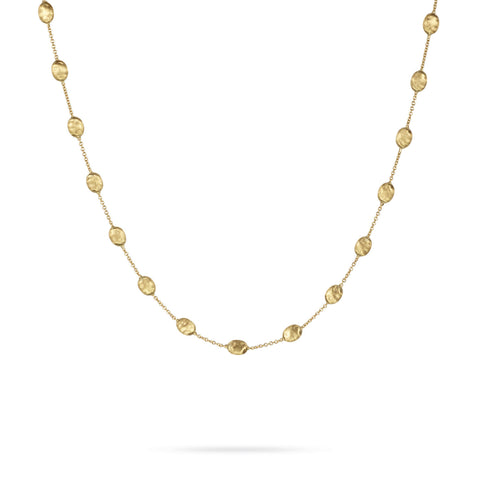 Siviglia Gold Medium Bead Necklace