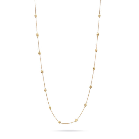 "Siviglia Gold Small Bead 47"" Necklace"