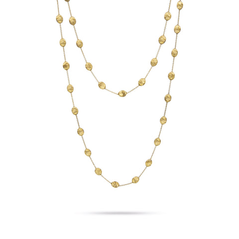 "Marco Bicego® Siviglia Collection 18K Yellow Gold Large Bead 47"" Necklace"