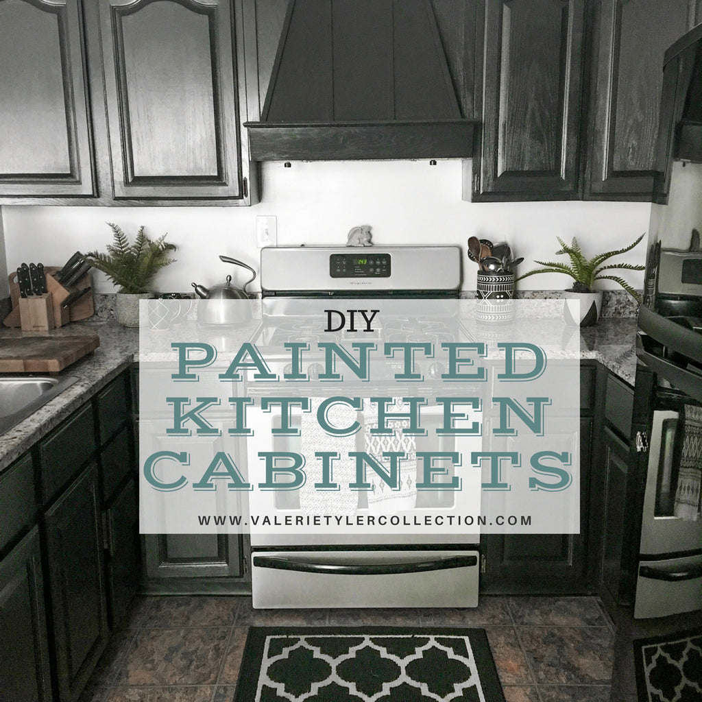 DIY Kitchen Cabinet Painting