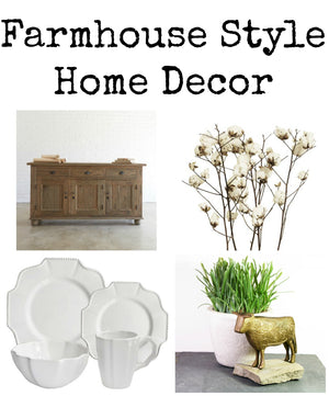Farmhouse Style Home Decor