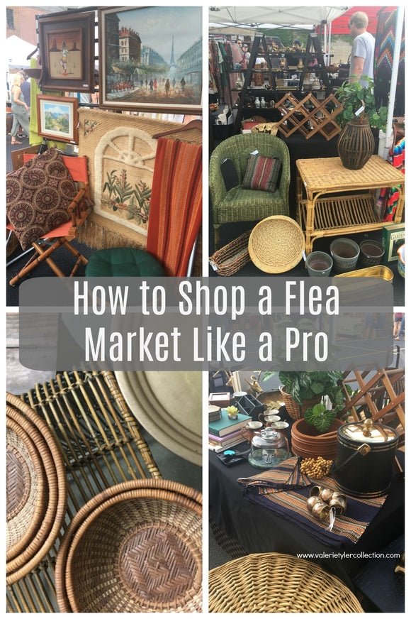 How to Shop a Flea Market like a Pro