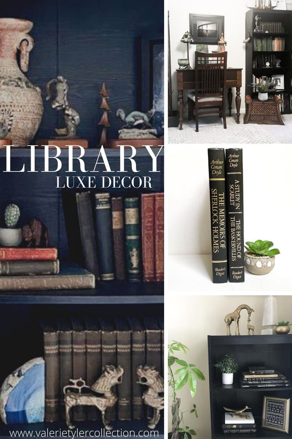 Library Luxe, Library Decor Inspiration