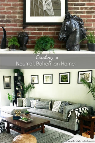 Creating a Neutral, Bohemian Home