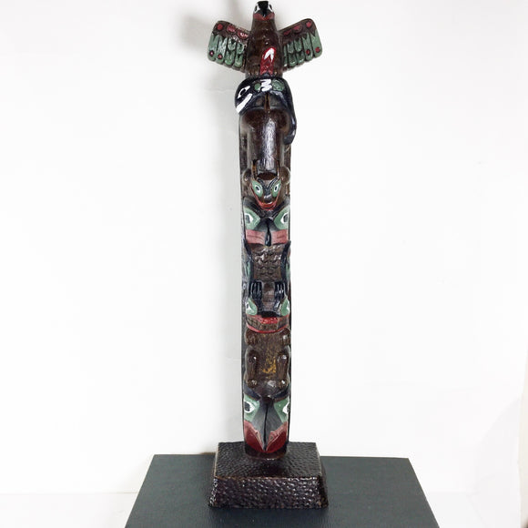 Carved Totem Pole - Boma Canada
