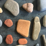 Vintage Beachcomber Lot - Driftwood, Lake Tumbled Stone and more