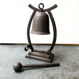 Cast Iron Gong with Mallet