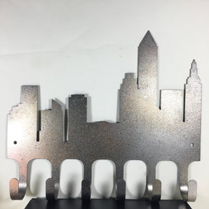 Mixed Metallic Cleveland Skyline Rack