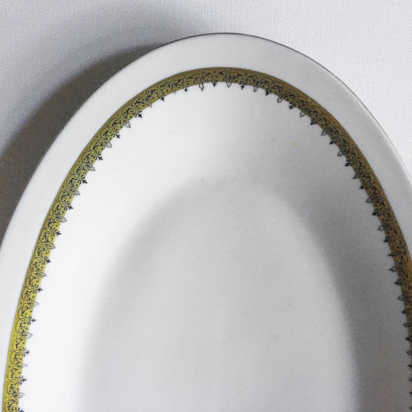 Chodziez porcelain platter from Poland