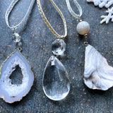 Geode and Crystal Ornament Assortment