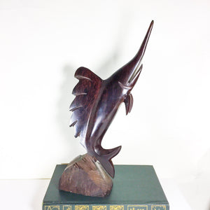 Vintage Ironwood Marlin Fish Figurine