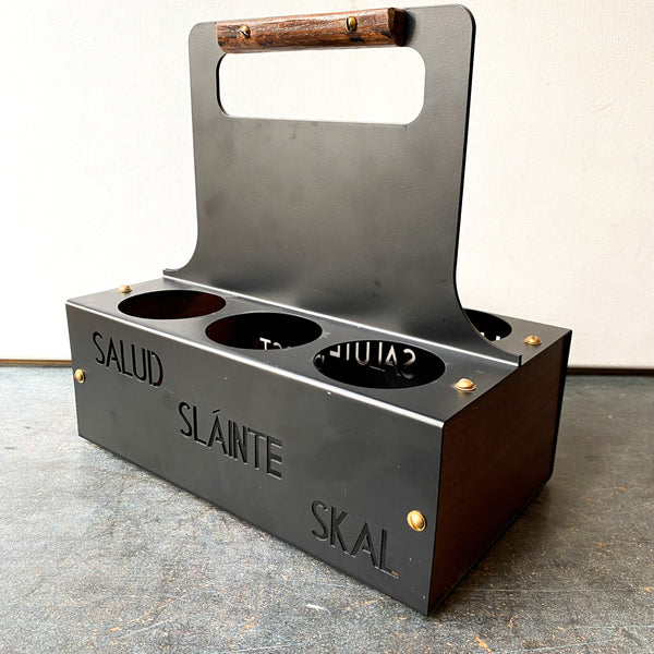 Steel Six Pack Holder, Beverage Carrier