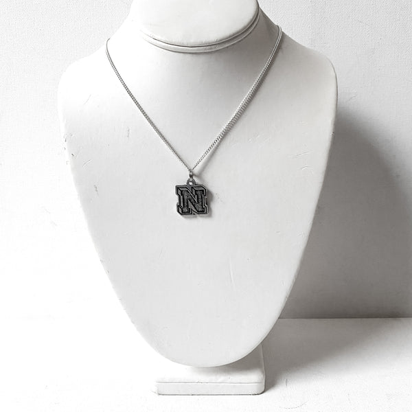 """N"" for Nordonia Necklace, Collegiate Letter"