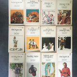 Shakespeare Book Set, Vintage The Folger Library General Readers Shakespeare Set of 12. Pocket Books Drama Paperbacks