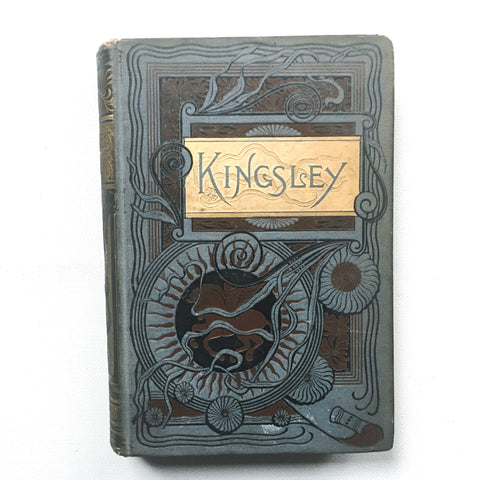 Antique Poetry Book, Charles Kingsley