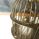 Small Brass Bird Cage Ornament