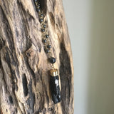 Black Tourmaline Pendant Necklace