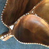 Wood Tray Bohemian Style Decorative Bowl