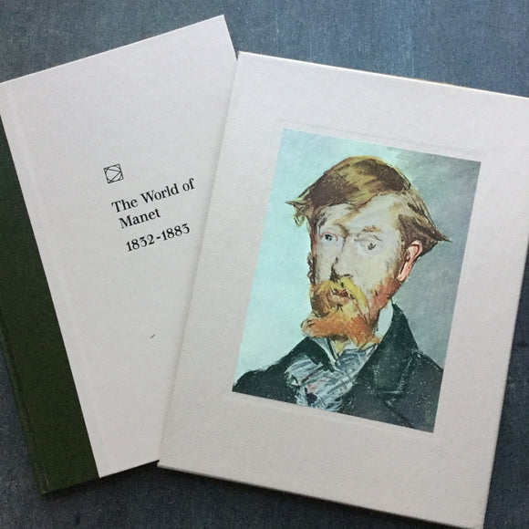 The World Of Manet - Vintage Time Life Library World of Art