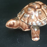 Vintage Wade Porcelain Turtle Box , Collectible made in England