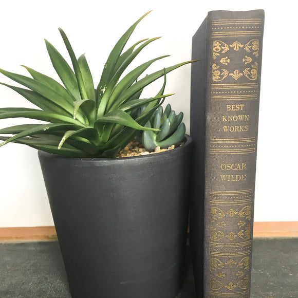 The Best Known Works of Oscar Wilde - vintage blue cloth bound edition