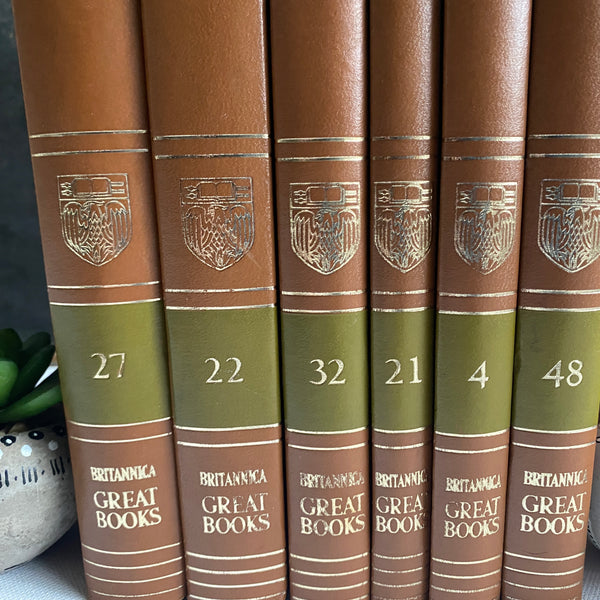 The Great Books of the Western World Vintage Book Set