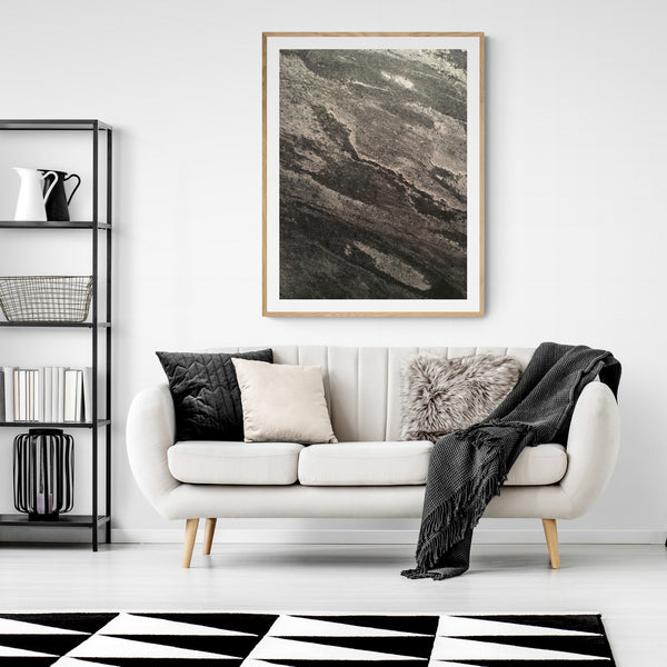 Industrial Abstract Wall Art, Urban Print, Original Photography, Loft Art, Gray Style One