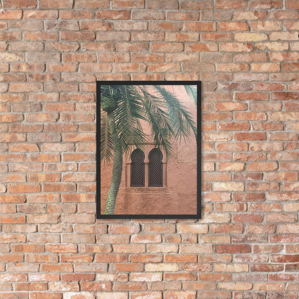 Tropical Palm Print, Palm Tree Photograph, Wall Art