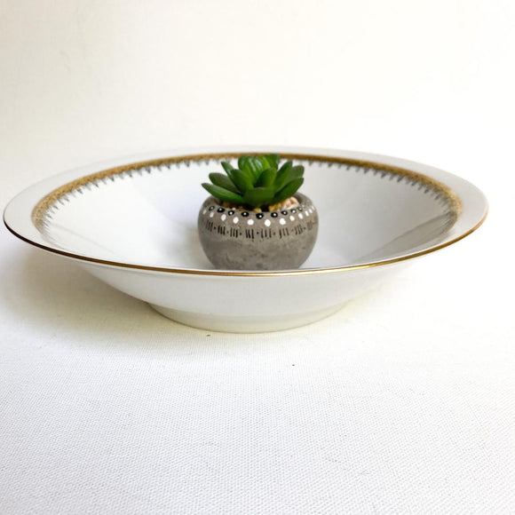 Vintage Chodziez Porcelain Serving Bowl