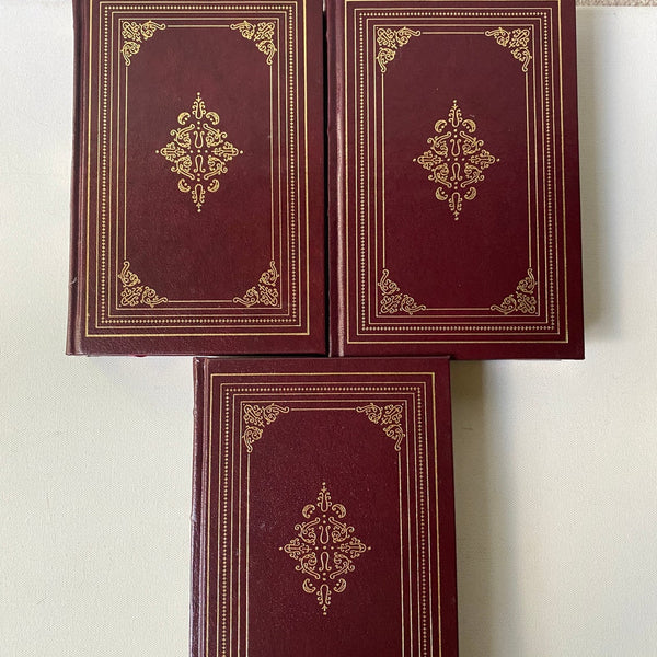 English Poetry in Three Volumes, Vintage Hardbound Books,The Harvard Classics, Keats, Fitzgerald, Whitman, Emerson and more