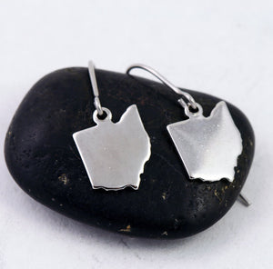 Silver Ohio Earrings