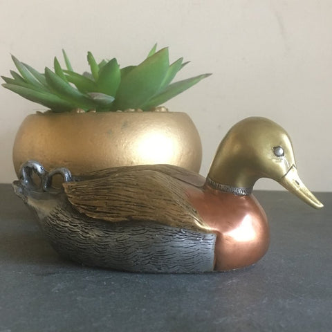 Mixed Metal Duck - Limited Edition and Signed Chesney Studios