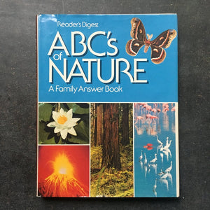 Vintage ABCs of Nature Book, Reader's Digest Picture Reference Book