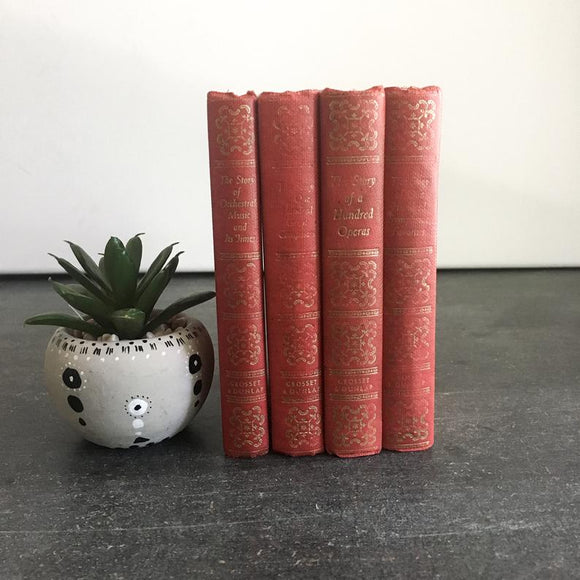 Miniature Red Books, Pocket Sized, The Story of Orchestral Music, Opera, Symphonic Favorites