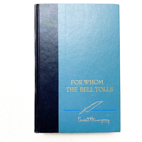 For Whom the Bell Tolls, Ernest Hemingway, Vintage Hardbound Book