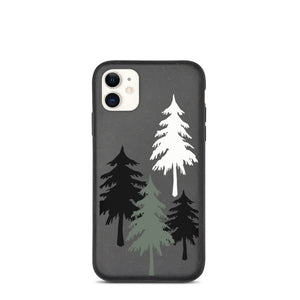 Biodegradable Eco Friendly iPhone Case - Evergreen Forest