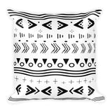 Mud Cloth Pattern Pillow