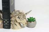 Brass Unicorn Figurine