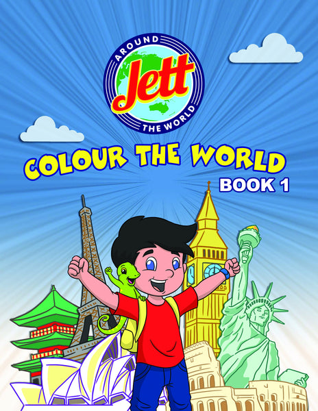 Colour The World Book 1
