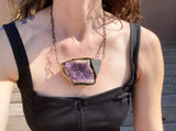 Mineralogy Project + DB/CB Jewelry Collaboration +Amethyst+
