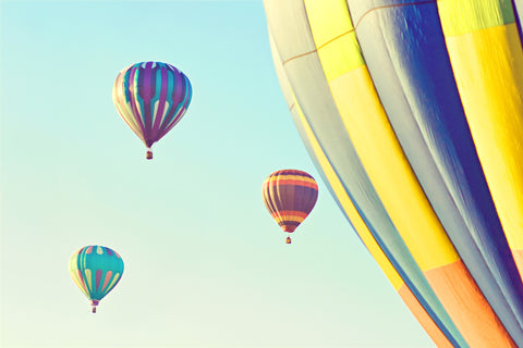 Boise Hot Air Balloon Wall Art