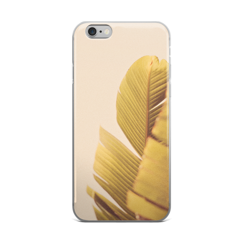 Palm Leaves - iPhone Case