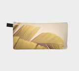 Palm Leaves Zippered Pouch