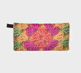 Bright Modern Crochet Zippered Pouch